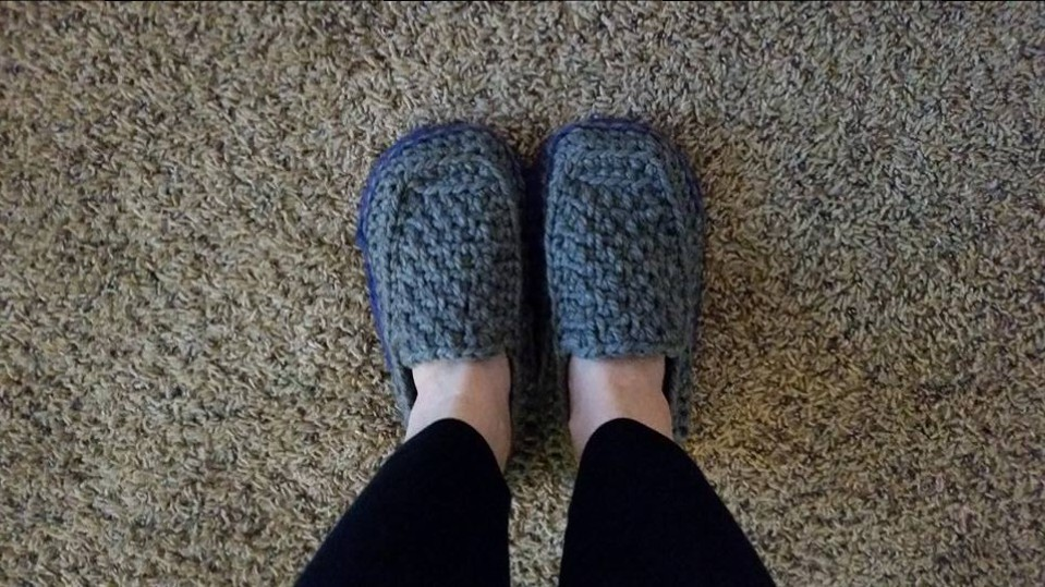 Loafer Crochet Simply Hooked Mom